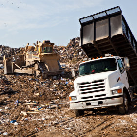 landfill square